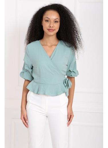 Sense Bluz Yeşil